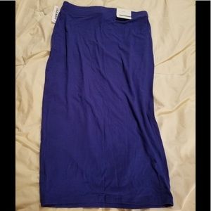NWT!! Old Navy cotton pencil skirt