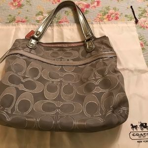Genuine Coach Bag.  Gently used