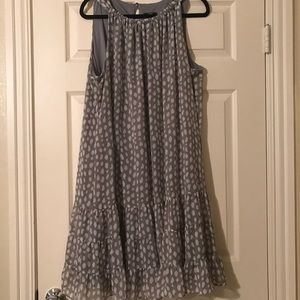Lined Multi Tiered Dress
