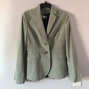 Gray Ann Taylor wool jacket