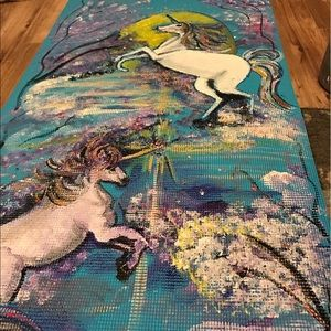 Hand painted Yoga mats