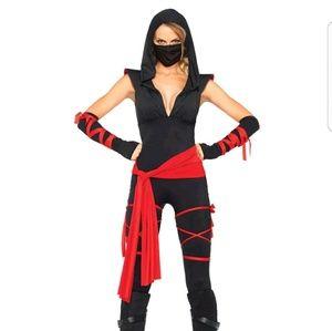 Womens Deadly ninja Halloween costume brand new