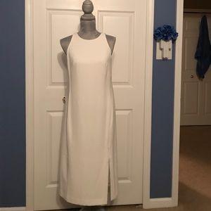Off white summer or winter dress