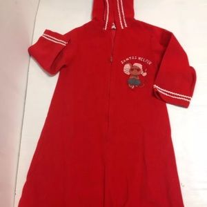 Vintage santas helper hooded robe sample 3