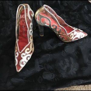 Extremely rare Cinderella Jeffrey Campbell heels