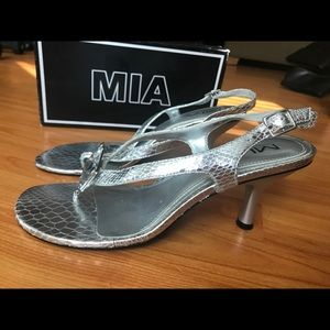 Mia Silver Gem Sandal