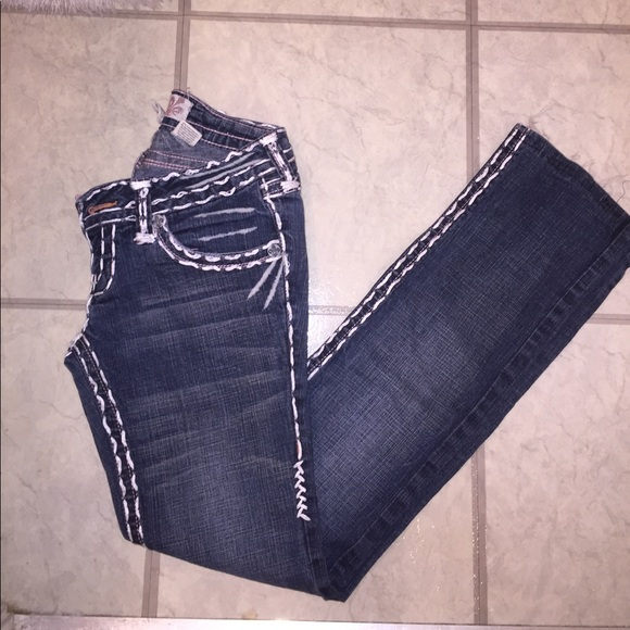 laguna beach jean co jeans whit and pink stitched poshmark