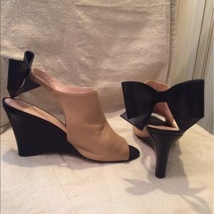 Kate Spade Wedges with Bow