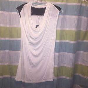NWT - Express - Tank with Leather Detail