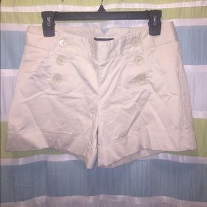 Express - Button Front - Khaki Shorts
