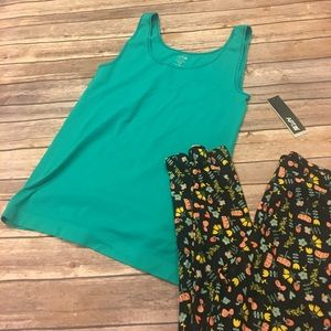 NWT teal tank top