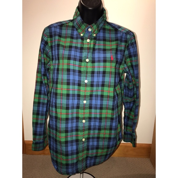 019601feb Polo by Ralph Lauren Shirts & Tops   Polo Ralph Lauren Boys Plaid ...