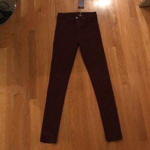 Carmar maroon jeans