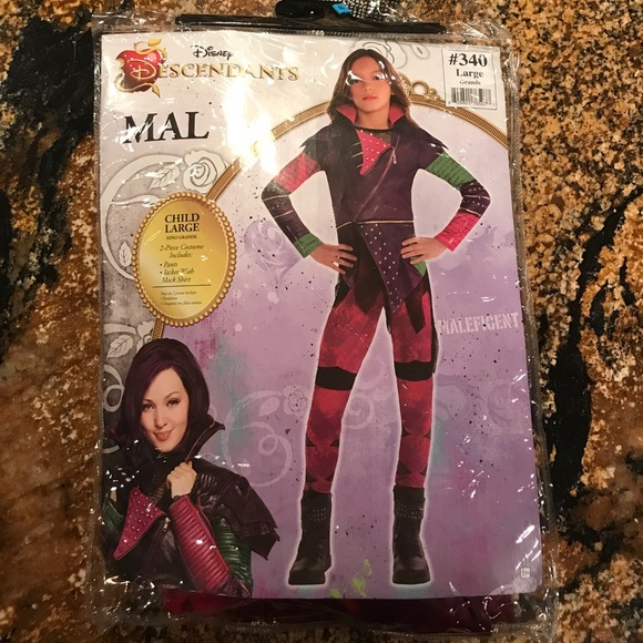 mal disney descendants halloween costume