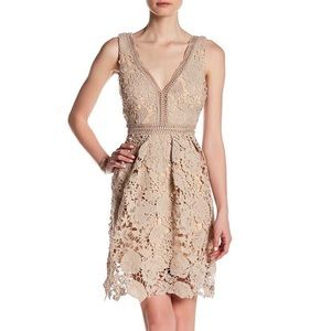 Romeo + Juliet Couture Floral Lace Dress