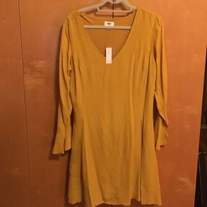 Adorable Mustard Yellow Old Navy Dress