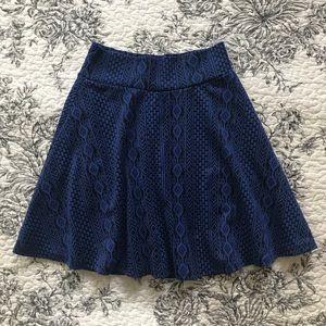 $5 Blue skater skirt