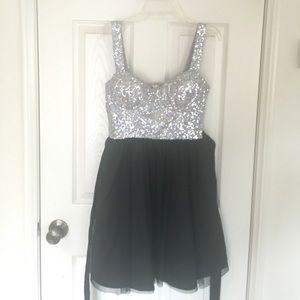 Sparky prom dress