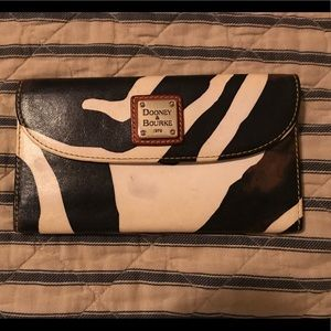 Dooney & Bourke Zebra Wallet