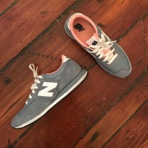 New Balance Baby Blue Sneakers
