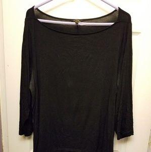 Elegant black tunic