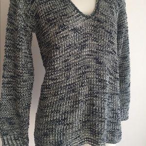 New women's sweater shirt Black grey new wtags