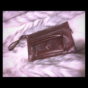 🍁🍂Small Brown Clutch🍂🍁