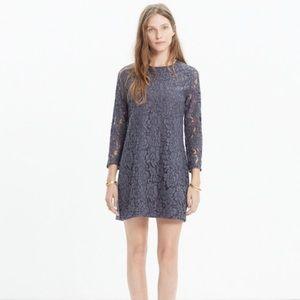 Madewell lace long sleeve dress