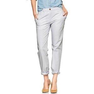 Gap Broken-in Straight Mini Stripe Khakis (10)