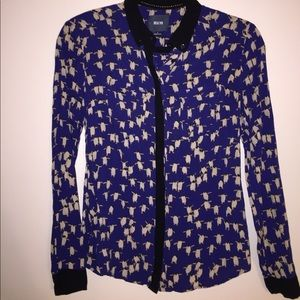 Anthropologists Maeve Penguin Bagatelle Blouse