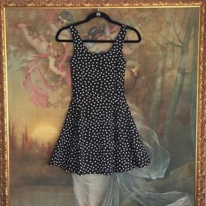 Brand new black & white polka dot dress from H&M