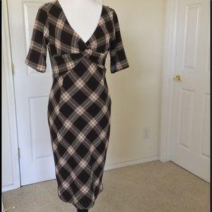🆕Listing Zara Brown Plaid Dress