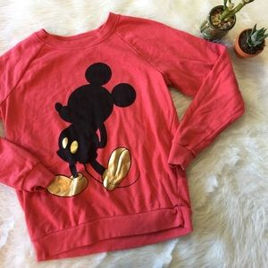 Disney Micky Mouse Pullover Sweater