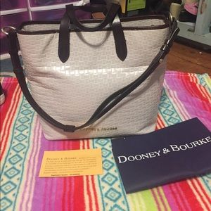 Dooney and Bourke off white bag