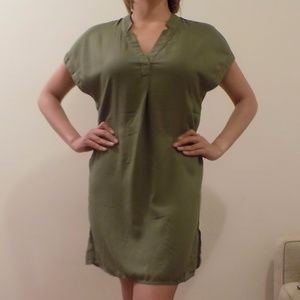 H&M Army Green Dress US 4