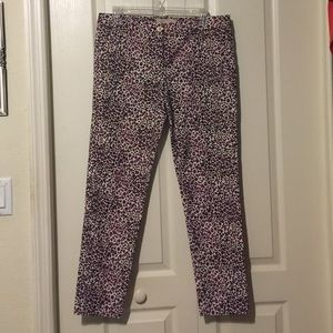 MK leopard dress pants
