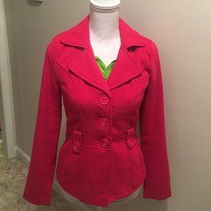 Charlotte Russe hot pink jacket