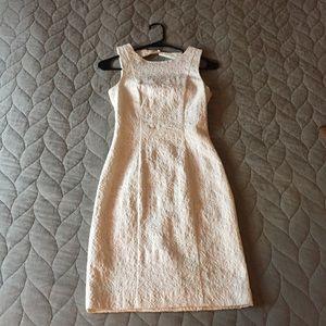 White Form Fitting H&M Dress