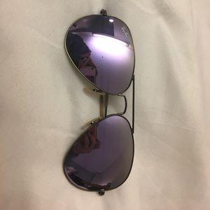 Ray Ban mirror sunglasses!