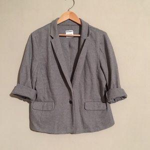 Casual Grey Blazer
