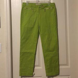 MK green dress pants