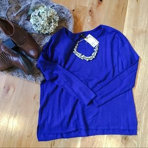 H&M Cobalt Sweater