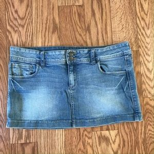 Denim Mini Skirt Juniors
