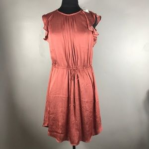 Nwt H&M Satin Sleeveless dress Sz 10