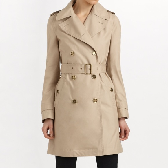 109b79715e4d8 Burberry Jackets   Blazers - Burberry Women s Double Breasted Trench Coat 4L
