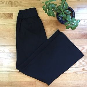 GAP Classic Black Trouser Maternity Pants 8