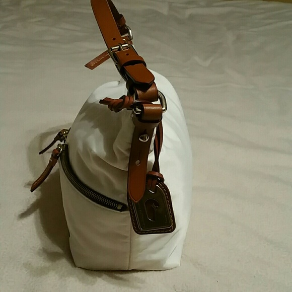 Dooney & Bourke Bags - Dooney and Burke white small shoulder bag