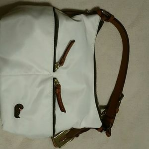 Dooney & Bourke Bags - Dooney and Burke white small shoulder bag