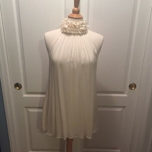 Gant collection silk ruche neck blouse