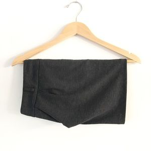 Fall Gray mini skirt for work or casual